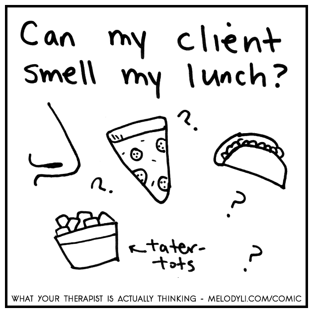 Lunch Smells | What Your Therapist Is Actually Thinking | Melody Li Counseling & Couples Therapy in Austin TX