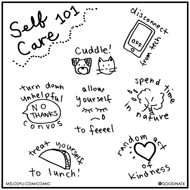 Self Care 101 | Melody Li Counseling & Couples Therapy in Austin TX